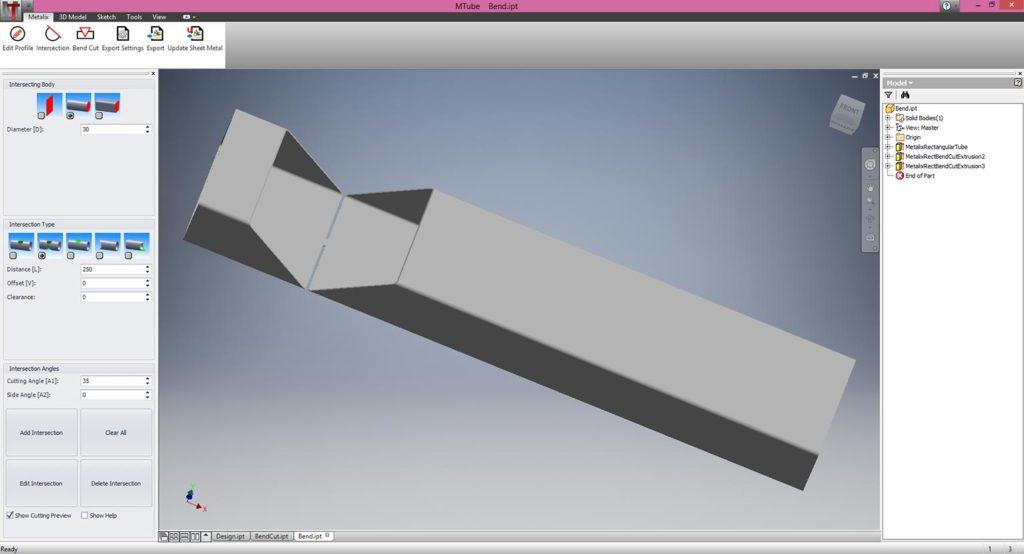 Bend Cutting
